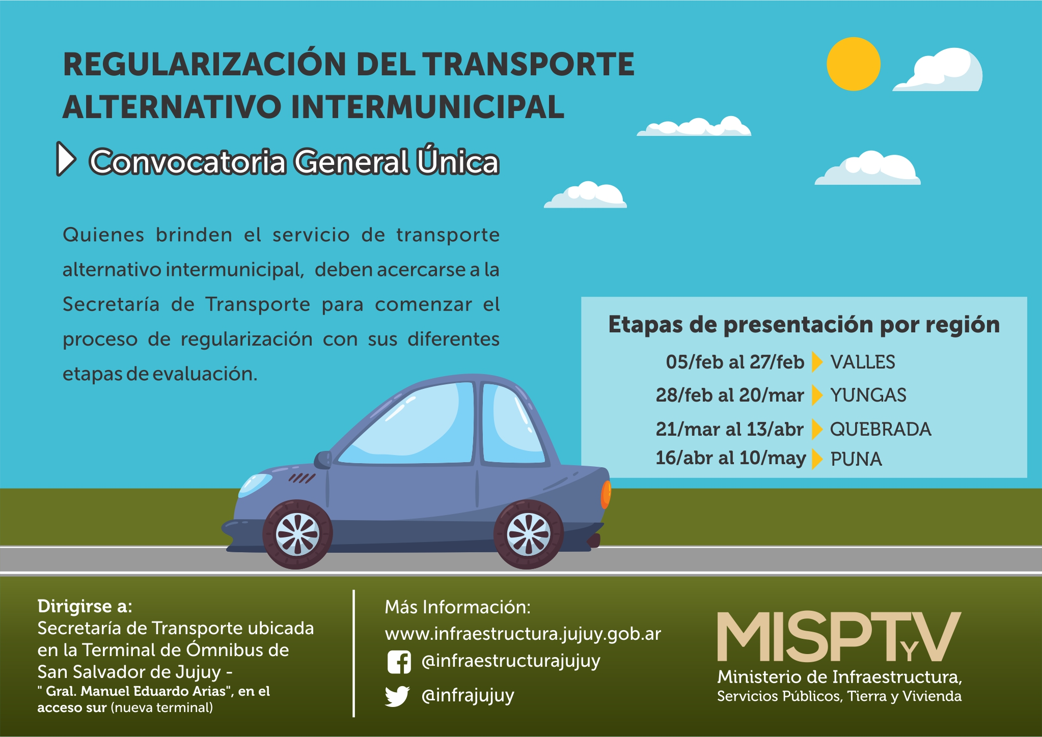 18.1.19 TRANsPORTE - regularizacion del transporte alternativo intermunicipal