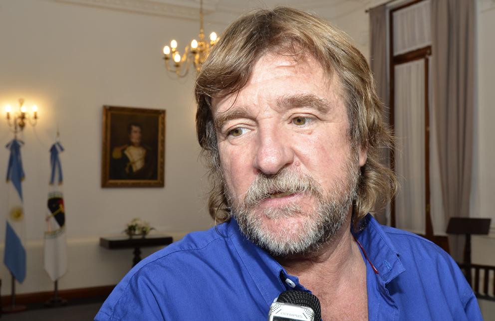 Ministro Jorge Rizzotti participó de la reunión.