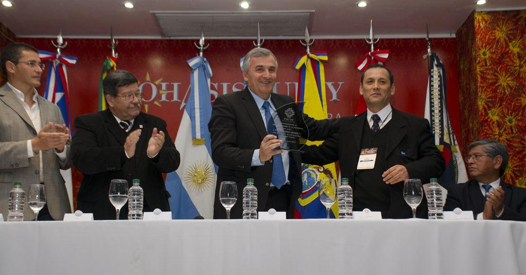 EL Gobernador Gerardo Morales en la 3er. Feria Internacional Andina de Turismo.