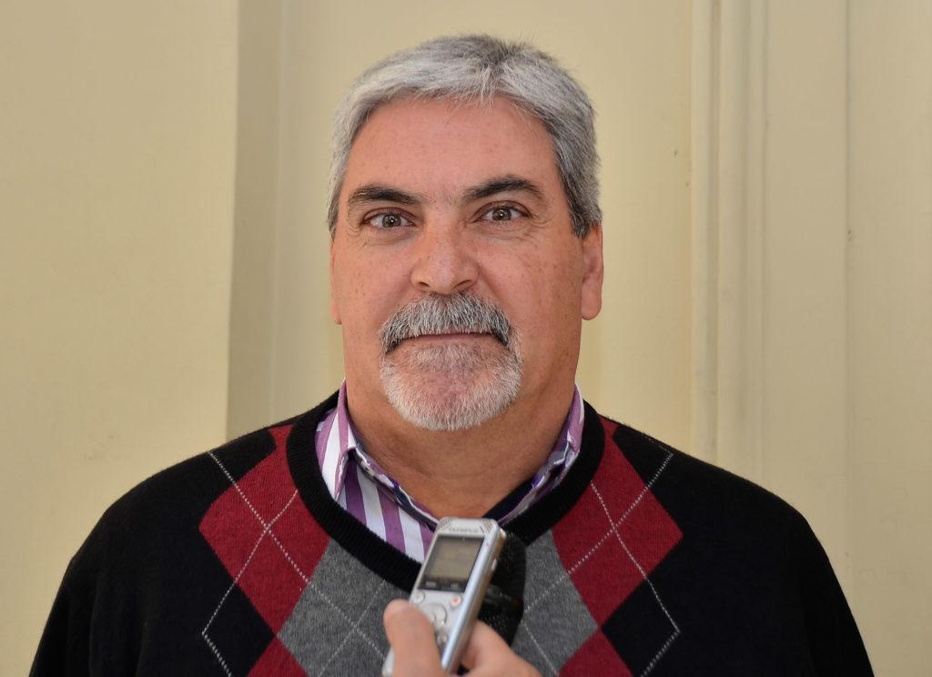 Jorge Eduardo Skinner, Director General de Transporte de la Provincia