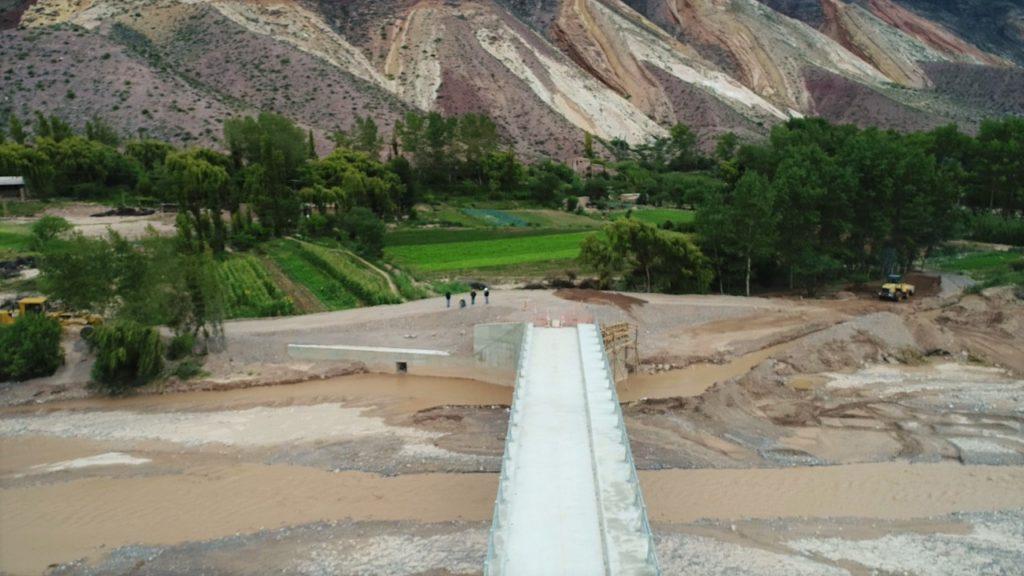 Nuevo Puente sobre Río Grande-Maimará