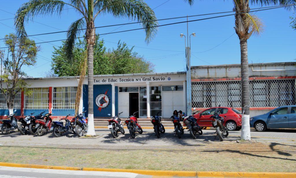 La Técnica General SAvio, de Palpalá, tendrá nuevo tinglado, y la tarea propiciará trabajo para cooperativistas.
