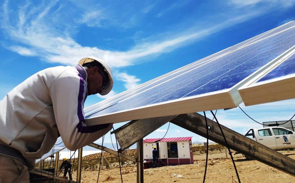 La Central Fotovoltaica Olaroz Chico será inaugurada este viernes 25 de enero.